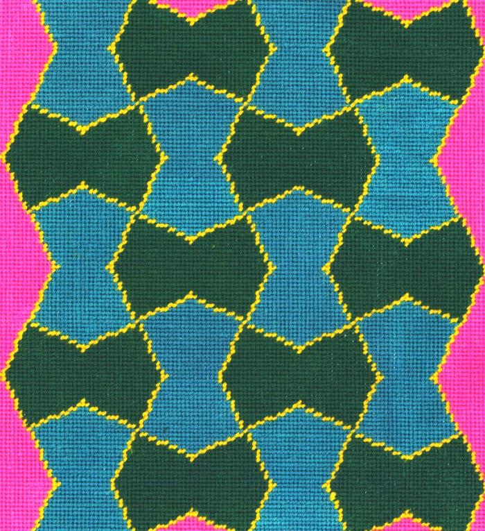 Francis Designs Geometric Needlepoint 1